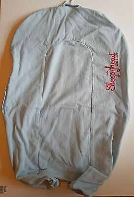 Sleepyhead Deluxe Spare Cover - Blue with Red Writing - Very Good Condition