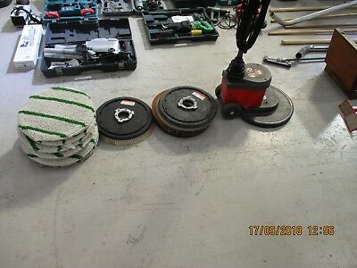 Floor Polisher Victor Wolf 400 Rpm Low Speed