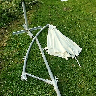 Ikea Karlso Garden Umbrella And Stand.