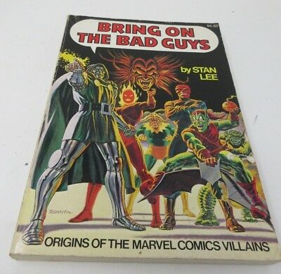 Bring On the Bad Guys by Stan Lee Marvel Comic Book 1976