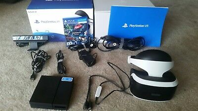 Sony PlayStation VR Headset with Camera