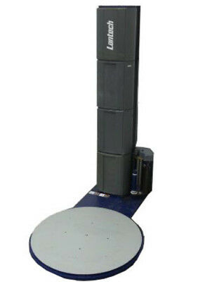 """Semi-Automatic Lantech Q300 Stretch Wrapper -30"""" Carriage- 110"""" Mast Height"""