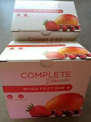 Juice Plus Complete Mixed Fruit Bar Riegel MHD 10/2018