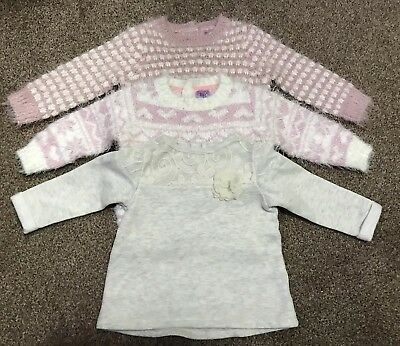Baby Girls Bundle Top Cardigan Jumper 3-6 Months