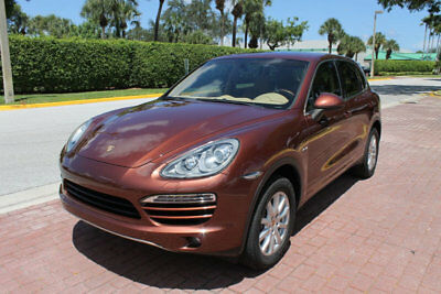 2013 Porsche Cayenne CAYENNE DIESEL NAV BACKUP CAM LANE CHANGE!!!!!!!!! BI XENON, PREMIUM PKG PLUS, BOSE AUDIO PKG, HEATED/VENTILATED SEATS, 1 OWNER!!!!