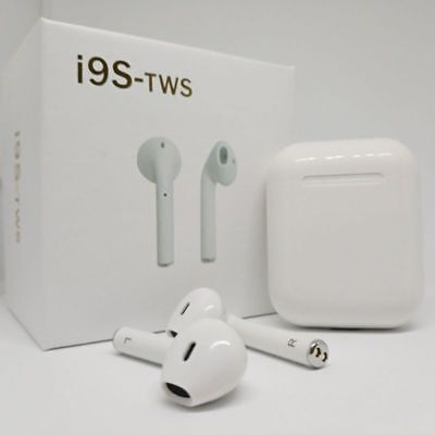 i9s TWS Wireless Bluetooth Earbuds Headphones Headset For iPhone & Android
