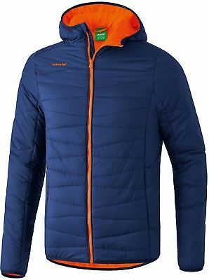 Erima Steppjacke new navy/orange fire new navy/orange fire