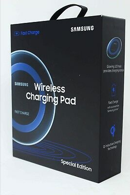 Samsung QI Fast Charge Wireless Charging Pad Special Edition Galaxy S8 S9 Note 9