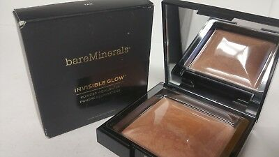 bareMinerals Invisible Glow Powder Highlighter, TAN-  NIB