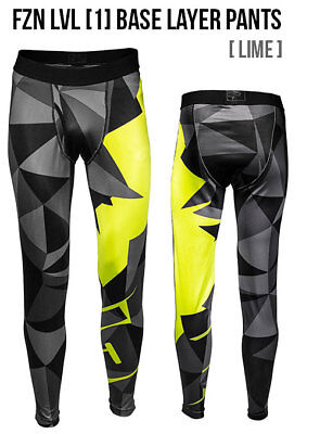2018 - 509 Fzn Base Layer Snowmobile Pants Cold Armor Lime Xlg 509-Bp1-Fzli-Xl