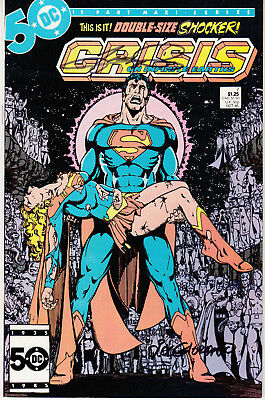 Crisis on Infinite Earths #7 - Signed - Artist George Perez - Death of Supergirl