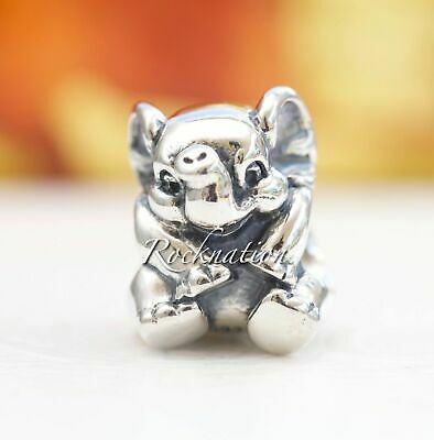 Authentic Pandora Lucky Elephant Sterling Silver Charm 791902