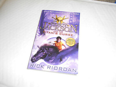 Percy Jackson and the Titan's Curse (Book 3) by Rick Riordan (Paperback, 2013)