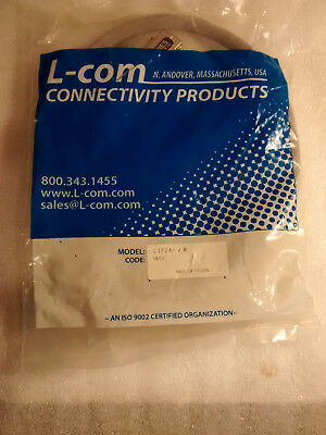 NEW L-COM CIF24-1M CIF24 Deluxe 1 Meter Long IEEE-488 GPIB Cable - Fast SHip
