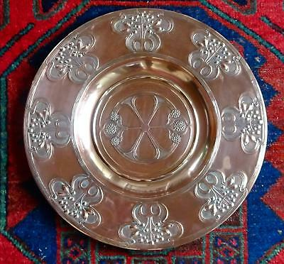 Exceptional WMF Secessionist Art Nouveau Wall-plate, Charger