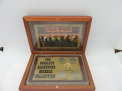 The Obsolete Racketeer Nickels Collection Old West