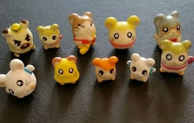 Brand New Hamtaro and Friends mini figures lot of 10