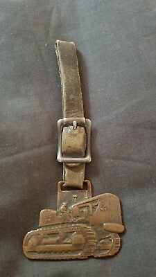 Allis Chalmers For Dependable Service See Brock Tractor Co Advertising Watch Fob