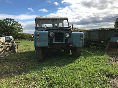 Land Rover Series 2 1964 ex raf