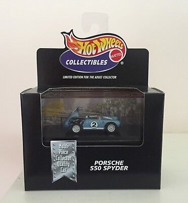 Hot Wheels Cool Collectibles Porsche 550 Spyder - Limited Edition