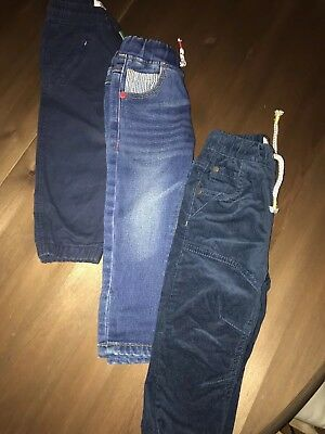 Next Bundle Of Boys Jeans And Trousers Age 12-18 Months