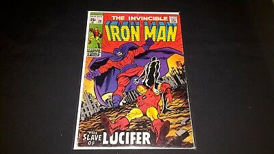 Iron Man #20 - Marvel Comics - December 1969 - 1st Print