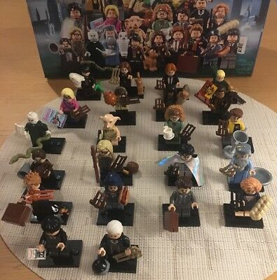Lego Harry Potter Fantastic Beasts Minifigures FULL COMPLETE SET 22 FIGURES 🇬🇧