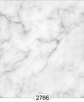 Dollhouse Wallpaper 1:12 Carrara Marble Slab Light Gray