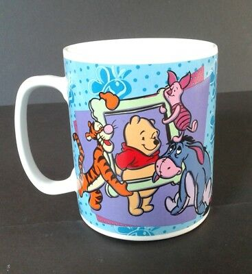 Disney Winnie The Pooh & Friends Extra Large Coffee Cup Mug 1997 Excellent Cond