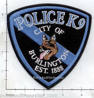 Colorado - Burlington CO Police Dept K-9 Patch