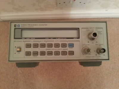Agilent  HP 5386A 3GHz ( 3.5 GHz ) Frequency Counter in a good working order