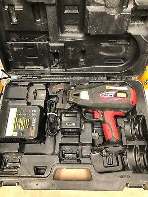MAX USA RB517N Cordless Rebar Tier w/ Charger, 1 Batteries, Charger, & Hard Case