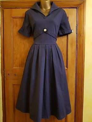 Lovely 40's 50's Style Dress From Lindy Bop Size 16 Vintage/Retro