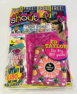 Shout Magazine #582 With AMAZING FREE GIFTS! (NEW)