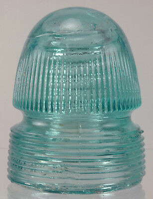 Cd 143 Canadian Pacific Ry Co - Withycombe Style Light Aqua Glass Insulator