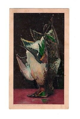 Arbuckle Bros. Coffee New York Hanging Ducks Cooking Series Victorian Trade Card