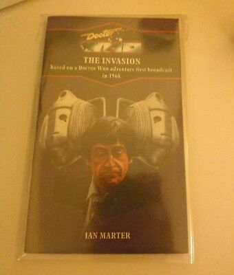 DOCTOR WHO BOOK - THE INVASION - VIRGIN BLUE SPINE RELEASE - No 98 - DR WHO
