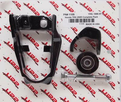 Honda TRX250R 86-87 Front Swingarm Chain Guide Roller UPP Complete Pack 1109