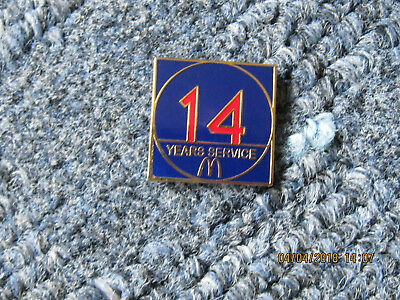 McDonalds PIN  14 YEAR SERVICE