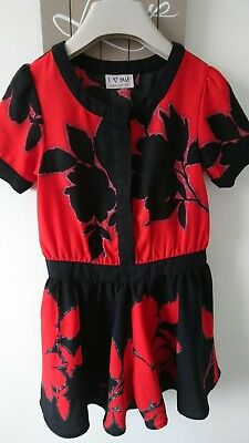 Next girl summer party holiday playsuit outfit 5 years excellent condition