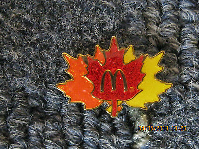 McDonalds PIN  FALL LEAVES