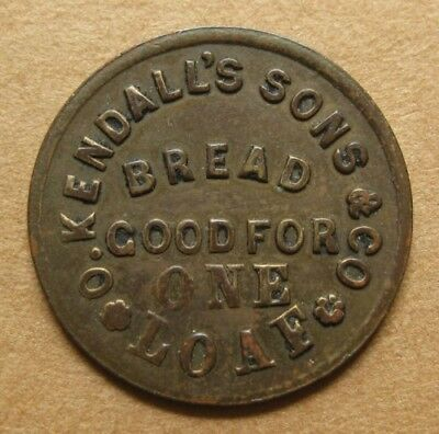 Chicago IL150AI-1b R-8 VF+ *** O. Kendall's Sons Bread Store - Very Rare Variety