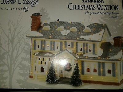 Department 56 Griswold Holiday House National Lampoon Christmas Vacation Village