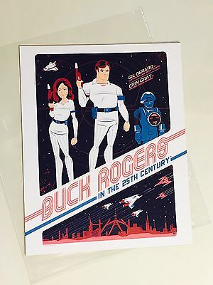 Loot Crate Exclusive DX Buck Rodgers 25th Century Print Lootcrate July 2016