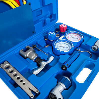 Value Integrated Tool Kit + Tools + Hoses Heavy Duty Gauge - Vtb-5B-I