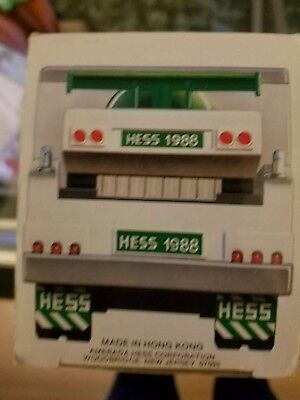 1988 Hess Toy Truck And Racer Unopened
