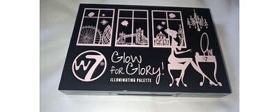 W7 - Glow for Glory! PALETTE 4 ombres à paupière / 2 blush Maquillage yeux teint