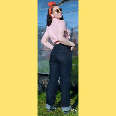 """FREDDIES OF PINEWOOD High Waisted CLASSIC Jeans-24"""" W-XS-NWOT"""