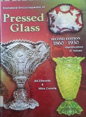 Encyclopedia Of Pressed Glass Id $ Price Guide Collectors Book 1860-1930