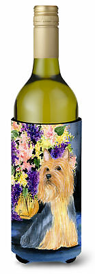 Silky Terrier Wine Bottle Beverage Insulator Beverage Insulator Hugger